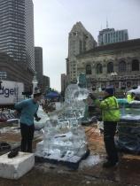 Isskulpturer i Boston